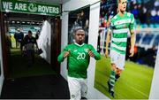 10 October 2019; Michael Obafemi of Republic of Ireland following the UEFA European U21 Championship Qualifier Group 1 match between Republic of Ireland and Italy at Tallaght Stadium in Tallaght, Dublin. Photo by Eóin Noonan/Sportsfile