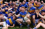 6 October 2019; Patrickswell captain Cian Lynch, centre, and his team-mates celebrate with the Daly Cup after the Limerick County Senior Club Hurling Championship Final match between Na Piarsaigh and Patrickswell at LIT Gaelic Grounds in Limerick. Photo by Piaras Ó Mídheach/Sportsfile
