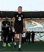 11 October 2019; James McClean during a Republic of Ireland training session at the Boris Paichadze Erovnuli Stadium in Tbilisi, Georgia. Photo by Stephen McCarthy/Sportsfile