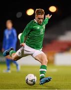 10 October 2019; Connor Ronan of Republic of Ireland during the UEFA European U21 Championship Qualifier Group 1 match between Republic of Ireland and Italy at Tallaght Stadium in Tallaght, Dublin. Photo by Eóin Noonan/Sportsfile