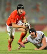 11 October 2019; Tyler Bleyendaal of Munster during the Guinness PRO14 Round 3 match between Toyota Cheetahs and Munster at Toyota Stadium in Bloemfontein, South Africa. Photo by Johan Pretorius/Sportsfile
