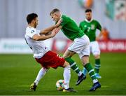 12 October 2019; James McClean of Republic of Ireland in action against Otar Kakabadze of Georgia during the UEFA EURO2020 Qualifier match between Georgia and Republic of Ireland at the Boris Paichadze Erovnuli Stadium in Tbilisi, Georgia. Photo by Seb Daly/Sportsfile