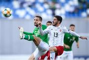 12 October 2019; Conor Hourihane of Republic of Ireland in action against Otar Kiteishvili of Georgia during the UEFA EURO2020 Qualifier match between Georgia and Republic of Ireland at the Boris Paichadze Erovnuli Stadium in Tbilisi, Georgia. Photo by Stephen McCarthy/Sportsfile