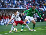 12 October 2019; Jano Ananidze of Georgia in action against Conor Hourihane of Republic of Ireland during the UEFA EURO2020 Qualifier match between Georgia and Republic of Ireland at the Boris Paichadze Erovnuli Stadium in Tbilisi, Georgia. Photo by Stephen McCarthy/Sportsfile
