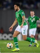 12 October 2019; Derrick Williams of Republic of Ireland during the UEFA EURO2020 Qualifier match between Georgia and Republic of Ireland at the Boris Paichadze Erovnuli Stadium in Tbilisi, Georgia. Photo by Stephen McCarthy/Sportsfile