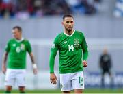 12 October 2019; Conor Hourihane of Republic of Ireland during the UEFA EURO2020 Qualifier match between Georgia and Republic of Ireland at the Boris Paichadze Erovnuli Stadium in Tbilisi, Georgia. Photo by Seb Daly/Sportsfile