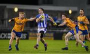 12 October 2019; Michael Darragh MacAuley of Ballyboden in action against Conor McHugh and David Quinn of Na Fianna during the Dublin County Senior Club Football Championship Quarter-Final match between Ballyboden and Na Fianna at Parnell Park in Dublin. Photo by Matt Browne/Sportsfile