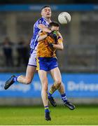 12 October 2019; Aran Waters of Ballyboden in action against David Quinn of Na Fianna during the Dublin County Senior Club Football Championship Quarter-Final match between Ballyboden and Na Fianna at Parnell Park in Dublin. Photo by Matt Browne/Sportsfile