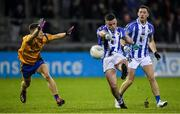 12 October 2019; Ross McGarry of Ballyboden in action against Eoin Murchan of Na Fianna during the Dublin County Senior Club Football Championship Quarter-Final match between Ballyboden and Na Fianna at Parnell Park in Dublin. Photo by Matt Browne/Sportsfile