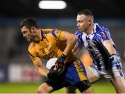 12 October 2019; Niall Cooper of Na Fianna in action against Cathal Flaherty of Ballyboden during the Dublin County Senior Club Football Championship Quarter-Final match between Ballyboden and Na Fianna at Parnell Park in Dublin. Photo by Matt Browne/Sportsfile
