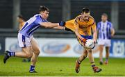 12 October 2019; Glenn O'Reilly of Na Fianna in action against Donogh McCabe of Ballyboden during the Dublin County Senior Club Football Championship Quarter-Final match between Ballyboden and Na Fianna at Parnell Park in Dublin. Photo by Matt Browne/Sportsfile