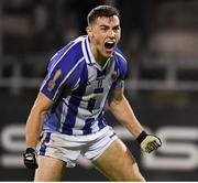 12 October 2019; Colm Basquel of Ballyboden celebrates after scoring his first goal against Na Fianna during the Dublin County Senior Club Football Championship Quarter-Final match between Ballyboden and Na Fianna at Parnell Park in Dublin. Photo by Matt Browne/Sportsfile