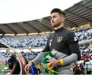 12 October 2019; Sean Maguire of Republic of Ireland prior to the UEFA EURO2020 Qualifier match between Georgia and Republic of Ireland at the Boris Paichadze Erovnuli Stadium in Tbilisi, Georgia. Photo by Seb Daly/Sportsfile