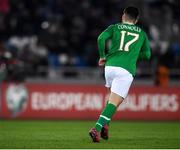 12 October 2019; Aaron Connolly of Republic of Ireland during the UEFA EURO2020 Qualifier match between Georgia and Republic of Ireland at the Boris Paichadze Erovnuli Stadium in Tbilisi, Georgia. Photo by Stephen McCarthy/Sportsfile