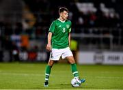 10 October 2019; Jayson Molumby of Republic of Ireland during the UEFA European U21 Championship Qualifier Group 1 match between Republic of Ireland and Italy at Tallaght Stadium in Tallaght, Dublin. Photo by Sam Barnes/Sportsfile