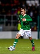 10 October 2019; Lee O'Connor of Republic of Ireland during the UEFA European U21 Championship Qualifier Group 1 match between Republic of Ireland and Italy at Tallaght Stadium in Tallaght, Dublin. Photo by Sam Barnes/Sportsfile