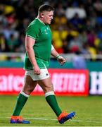 12 October 2019; Tadhg Furlong of Ireland is substituted during the 2019 Rugby World Cup Pool A match between Ireland and Samoa at the Fukuoka Hakatanomori Stadium in Fukuoka, Japan. Photo by Brendan Moran/Sportsfile