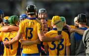 13 October 2019; Sixmilebridge coach Davy Fitzgerald speaks to his players prior to the Clare County Senior Club Hurling Championship Final match between Cratloe and Sixmilebridge at Cusack Park in Ennis, Clare. Photo by Diarmuid Greene/Sportsfile