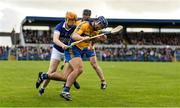 13 October 2019; Caimin Morey of Sixmilebridge in action against Billy Connors of Cratloe during the Clare County Senior Club Hurling Championship Final match between Cratloe and Sixmilebridge at Cusack Park in Ennis, Clare. Photo by Diarmuid Greene/Sportsfile