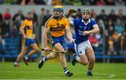13 October 2019; Seadna Morey of Sixmilebridge in action against Rian Considine of Cratloe during the Clare County Senior Club Hurling Championship Final match between Cratloe and Sixmilebridge at Cusack Park in Ennis, Clare. Photo by Diarmuid Greene/Sportsfile
