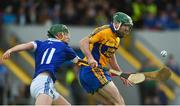 13 October 2019; Brian Carey of Sixmilebridge in action against Rian Considine of Cratloe during the Clare County Senior Club Hurling Championship Final match between Cratloe and Sixmilebridge at Cusack Park in Ennis, Clare. Photo by Diarmuid Greene/Sportsfile