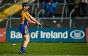 13 October 2019; Niall Gilligan of Sixmilebridge warms up prior to the Clare County Senior Club Hurling Championship Final match between Cratloe and Sixmilebridge at Cusack Park in Ennis, Clare. Photo by Diarmuid Greene/Sportsfile