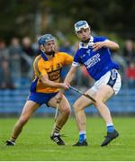 13 October 2019; Diarmuid Ryan of Cratloe in action against Brian Corry of Sixmilebridge during the Clare County Senior Club Hurling Championship Final match between Cratloe and Sixmilebridge at Cusack Park in Ennis, Clare. Photo by Diarmuid Greene/Sportsfile