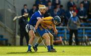 13 October 2019; Evan McInerney of Sixmilebridge in action against Conor McGrath of Cratloe during the Clare County Senior Club Hurling Championship Final match between Cratloe and Sixmilebridge at Cusack Park in Ennis, Clare. Photo by Diarmuid Greene/Sportsfile