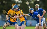 13 October 2019; Patrick Mulready of Sixmilebridge in action against Padraic Collins of Cratloe during the Clare County Senior Club Hurling Championship Final match between Cratloe and Sixmilebridge at Cusack Park in Ennis, Clare. Photo by Diarmuid Greene/Sportsfile