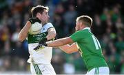 13 October 2019; Conor Boyle of Portlaoise in action against Arnie Mahon of Killeshin during the Laois County Senior Club Football Championship Final match between Portlaoise and Killeshin at O'Moore Park in Portlaoise, Laois. Photo by David Fitzgerald/Sportsfile