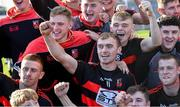 13 October 2019; Pauric Mahony of Ballygunner, centre, celebrates with team-mates and supporters after the Waterford County Senior Club Hurling Championship Final match between Ballygunner and De La Salle at Walsh Park in Waterford. Photo by Piaras Ó Mídheach/Sportsfile