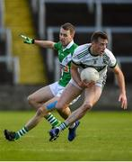 13 October 2019; Kieran Lillis of Portlaoise in action against Barry Ryan of Killeshin during the Laois County Senior Club Football Championship Final match between Portlaoise and Killeshin at O'Moore Park in Portlaoise, Laois. Photo by David Fitzgerald/Sportsfile