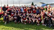 13 October 2019; Ballygunner players and supporters celebrate after the Waterford County Senior Club Hurling Championship Final match between Ballygunner and De La Salle at Walsh Park in Waterford. Photo by Piaras Ó Mídheach/Sportsfile