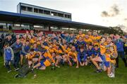 13 October 2019; Sixmilebridge players celebrate with the cup after the Clare County Senior Club Hurling Championship Final match between Cratloe and Sixmilebridge at Cusack Park in Ennis, Clare. Photo by Diarmuid Greene/Sportsfile
