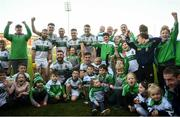 13 October 2019; Portlaoise players and supporters celebrate following the Laois County Senior Club Football Championship Final match between Portlaoise and Killeshin at O'Moore Park in Portlaoise, Laois. Photo by David Fitzgerald/Sportsfile