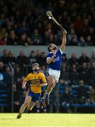 13 October 2019; Liam Markham of Cratloe in action against Conor Deasy of Sixmilebridge during the Clare County Senior Club Hurling Championship Final match between Cratloe and Sixmilebridge at Cusack Park in Ennis, Clare. Photo by Diarmuid Greene/Sportsfile