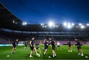14 October 2019; Republic of Ireland players during a training session at Stade de Genève in Geneva, Switzerland. Photo by Stephen McCarthy/Sportsfile