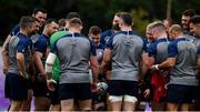 15 October 2019; The Ireland squad enjoy a light hearted moment during Ireland Rugby squad training in Arcs Urayasu Park in Urayasu, Aichi, Japan. Photo by Brendan Moran/Sportsfile