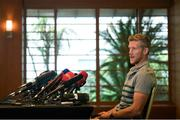 15 October 2019; Forwards coach Simon Easterby during an Ireland Rugby press conference in the Hilton Tokyo Bay Hotel in Urayasu, Chiba, Japan. Photo by Ramsey Cardy/Sportsfile