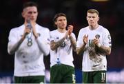 15 October 2019; James McClean of Republic of Ireland following the UEFA EURO2020 Qualifier match between Switzerland and Republic of Ireland at Stade de Genève in Geneva, Switzerland. Photo by Stephen McCarthy/Sportsfile