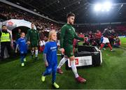 15 October 2019; Aaron Connolly of Republic of Ireland ahead of the UEFA EURO2020 Qualifier match between Switzerland and Republic of Ireland at Stade de Genève in Geneva, Switzerland. Photo by Stephen McCarthy/Sportsfile