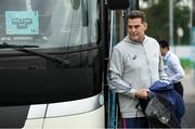 16 October 2019; Head coach Rassie Erasmus arrives for South Africa squad training at Fuchu Asahi Football Park in Tokyo, Japan. Photo by Ramsey Cardy/Sportsfile