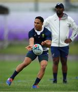 16 October 2019; Herschel Jantjies during South Africa squad training at Fuchu Asahi Football Park in Tokyo, Japan. Photo by Ramsey Cardy/Sportsfile