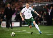 15 October 2019; James McClean of Republic of Ireland during the UEFA EURO2020 Qualifier match between Switzerland and Republic of Ireland at Stade de Genève in Geneva, Switzerland. Photo by Stephen McCarthy/Sportsfile
