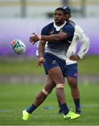 16 October 2019; Makazole Mapimpi during South Africa squad training at Fuchu Asahi Football Park in Tokyo, Japan. Photo by Ramsey Cardy/Sportsfile