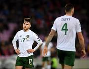 15 October 2019; Aaron Connolly of Republic of Ireland during the UEFA EURO2020 Qualifier match between Switzerland and Republic of Ireland at Stade de Genève in Geneva, Switzerland. Photo by Seb Daly/Sportsfile