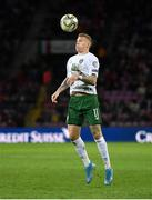 15 October 2019; James McClean of Republic of Ireland during the UEFA EURO2020 Qualifier match between Switzerland and Republic of Ireland at Stade de Genève in Geneva, Switzerland. Photo by Seb Daly/Sportsfile