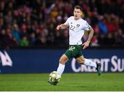 15 October 2019; James Collins of Republic of Ireland during the UEFA EURO2020 Qualifier match between Switzerland and Republic of Ireland at Stade de Genève in Geneva, Switzerland. Photo by Stephen McCarthy/Sportsfile