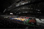16 October 2019; The Tokyo Metropolitan Gymnasium, Tokyo 2020 Summer Olympic Games venue for table tennis during the Tokyo 2nd World Press Briefing venue tour ahead of the 2020 Tokyo Summer Olympic Games. The Tokyo 2020 Games of the XXXII Olympiad take place from Friday 24th July to Sunday 9th August 2020 in Tokyo, Japan, the second Summer Olympics Games to be held in Tokyo, the first being 1964. Photo by Brendan Moran/Sportsfile