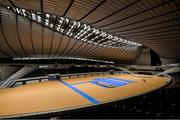 16 October 2019; The Yoyogi National Stadium, Tokyo 2020 Summer Olympic Games venue for handball, during the Tokyo 2nd World Press Briefing venue tour ahead of the 2020 Tokyo Summer Olympic Games. The Tokyo 2020 Games of the XXXII Olympiad take place from Friday 24th July to Sunday 9th August 2020 in Tokyo, Japan, the second Summer Olympics Games to be held in Tokyo, the first being 1964. Photo by Brendan Moran/Sportsfile